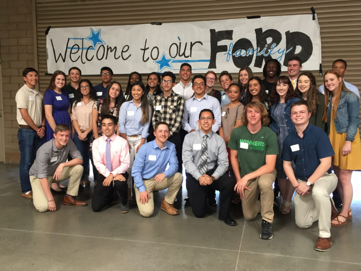 2017 Ford Dimension and Dream Builders Students